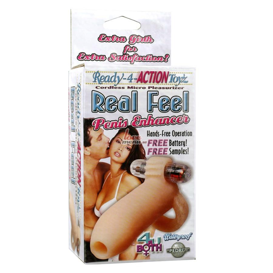 Вибронасадка на пенис - Real Feel Penis Enhancer - 1