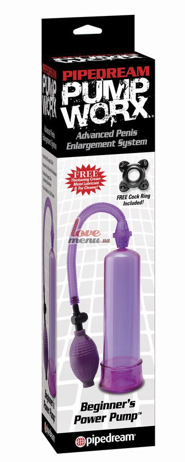 Вакуумная помпа Beginners Power Pump фиолетовая - 1
