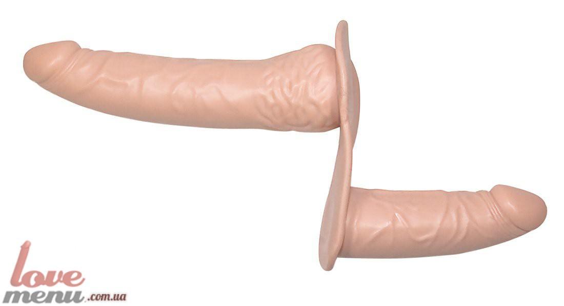 Фото двусторонний страпон