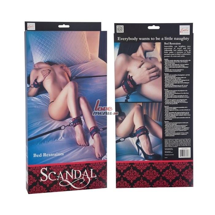 Набор для бандажа - Scandal Bed Restraints - 1