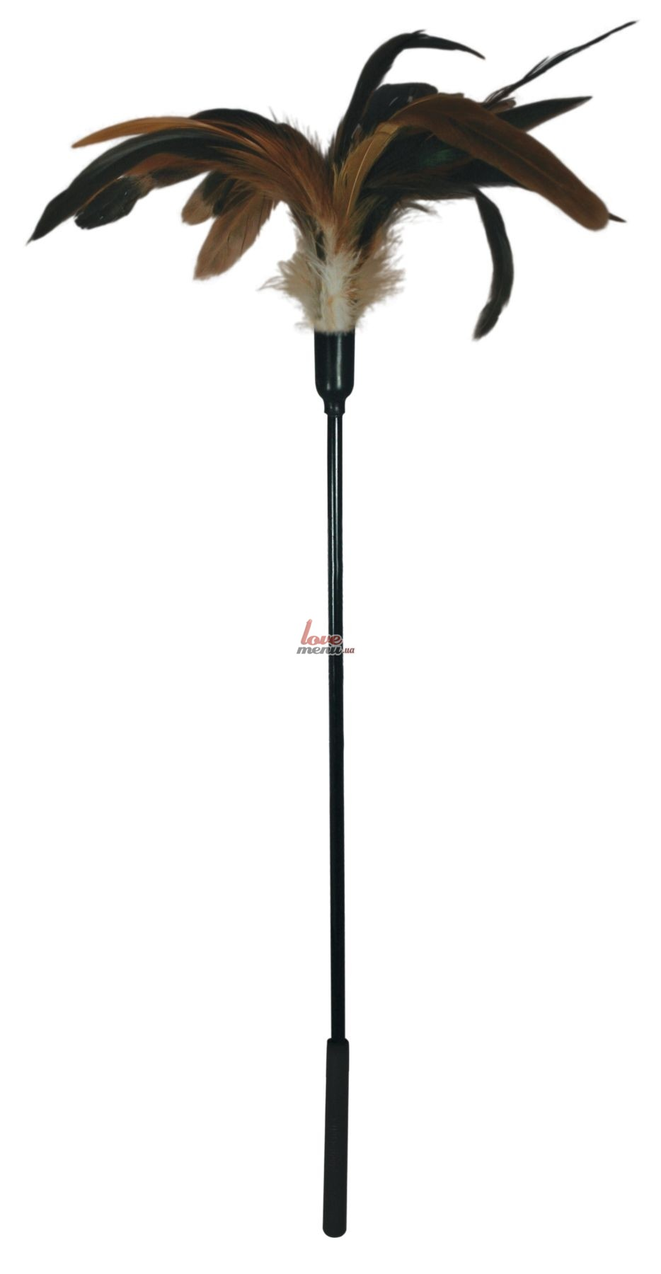 Щекоталка с петушиными перьями - Starburst Tickler - 5
