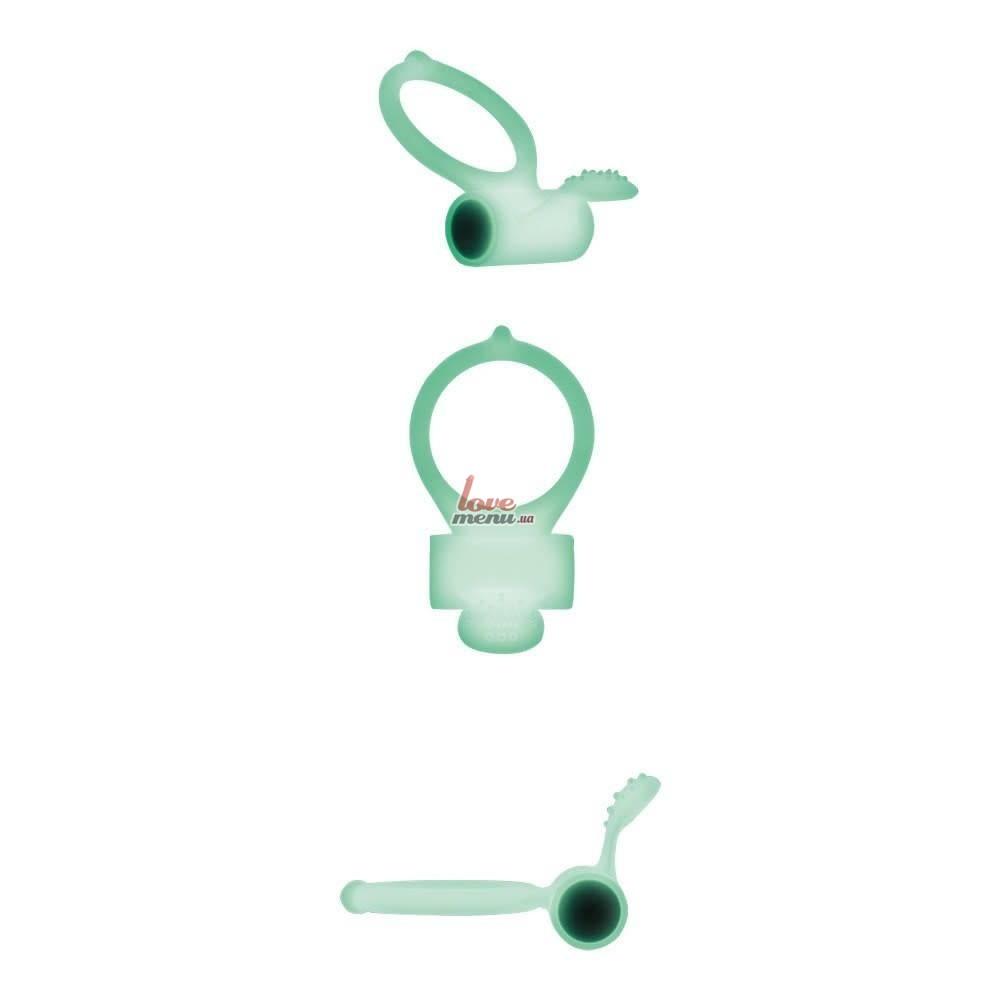 Эрекционное кольцо - Power Clit Phospho - 2