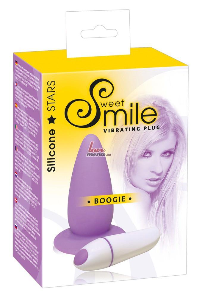 Анальная пробка - Smile Boogie - 6