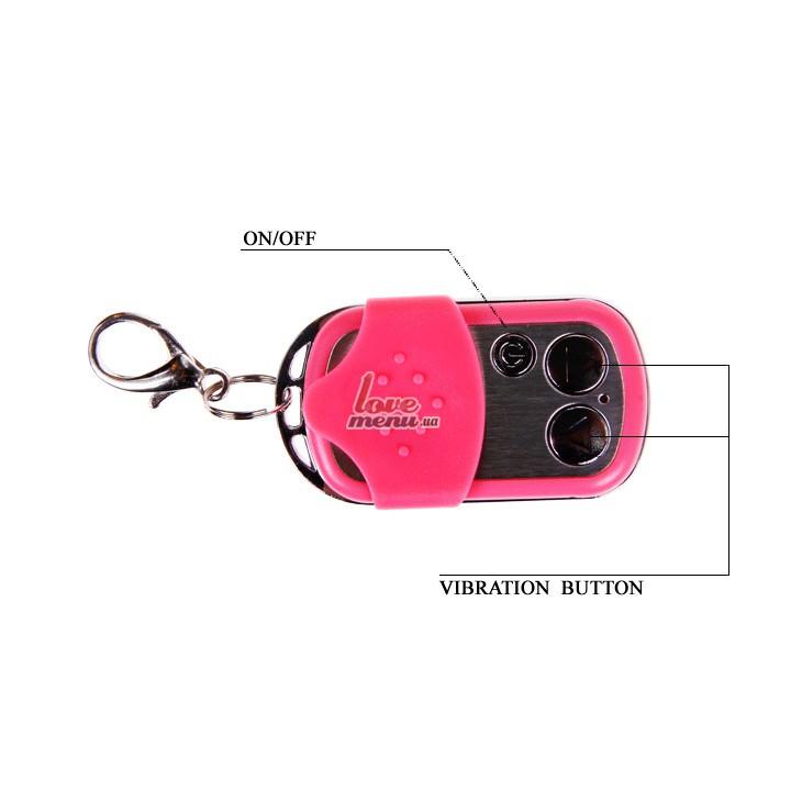 Дистанционное виброяйцо - Wireless Remote Control, розовое - 5