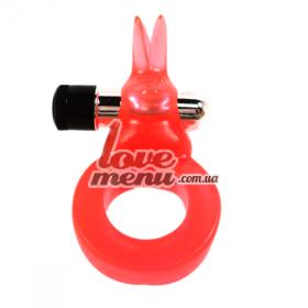 Кольцо с вибратором - Jelly Rabbit - 4