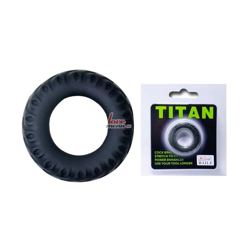 Эрекционное кольцо - Titan Green - 1