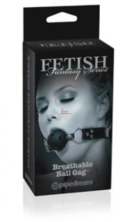 Кляп Fetish Fantasy Breathable Ball Gag черный