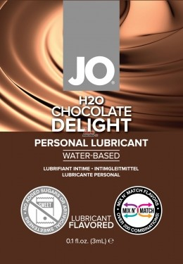 Лубрикант с ароматом - H2O Chocolate Delight, 3 мл