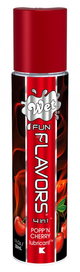 Лубрикант - Wet Fun Flavors Cherry, 30 мл