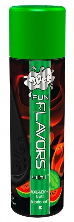 Лубрикант - Wet Fun Flavors Watermelon, 116 г
